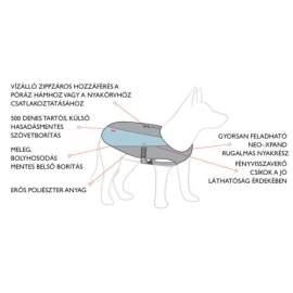 EZYDOG ELEMENT kutyakabát kék
